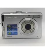 SAMSUNG SL201 DIGITAL CAMERA NO RESERVE WITH CASE. - $22.41