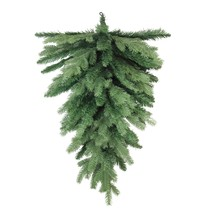 """Northlight 30"""" Coniferous Mixed Pine Artificial Christmas Teardrop Swag ... - $16.57"""
