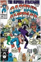 Captain America Comic Book #390 Marvel Comics 1991 FINE+ - $1.75