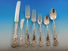 La Reine by R&B Sterling Silver Flatware Set for 12 Service 88 pieces Dinner - $7,900.00