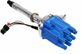 Pro Billet Series R2R Distributor GMC Chevy SBC BBC V8 327 350 396 454 Blue image 3