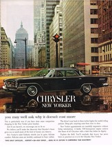 Vintage 1962 Magazine Ad Chrysler You May Well Ask Why It Doesn't Cost More - $5.93