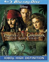 Disney Pirates of the Caribbean: Dead Man's Chest [Blu-ray] (2006)