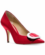 MICHAEL Michael Kors Pauline Heel Pumps Red Size 6 - $79.99