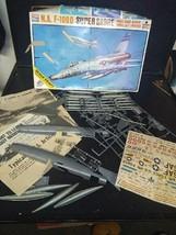 FSCI North American F-1000D Super Sabre 1:48 Scale Model Kit Italy - $14.99