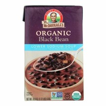 Dr. Mcdougall's Organic Black Bean Lower Sodium Soup - Case Of 6 - 18 Oz. - $36.97