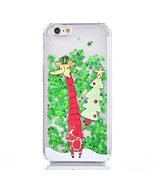 Case for iphone 7,[Liquid Glitter] Christmas Santa Claus Shiny Flowing C... - $8.90