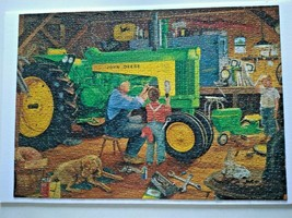 """John Deere Tractor """"Restoration ll"""" 1000pc Puzzle Great American Puzzle Factory - $24.95"""