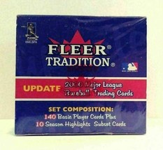 2000 Fleer Tradition Update Major League Baseball Trading Cards Sealed H... - $17.99