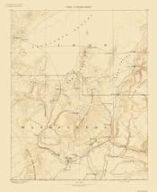 Topo Map - St George Utah Sheet - USGS 1891 - 23 x 28.21 - $36.95+