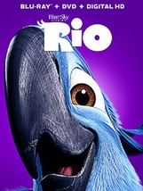 RIO Disney/Blue Sky Blu-ray + DVD NEW Digital HD MAY BE EXPIRED - $7.98