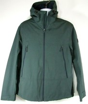 TIMBERLAND MEN'S DK.GREEN CANVAS HIKER HOODED JACKET Size L, A1N1P-E20 - $75.59
