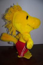 "Vintage Peanuts Plush Woodstock with swim trunks 10"" - $12.32"