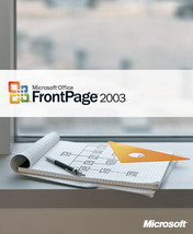 Microsoft Office FrontPage Professional 2003  -  genuine - $4.19