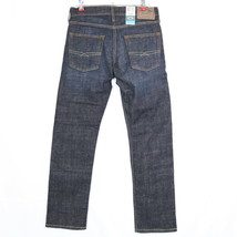 Levis Strauss Signature Slim Straight Mens Jeans Size 28 X 30 Stretch Dark - $42.32