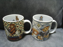 "2 Lang & Wise collectible mugs ~Teddy Bears ~ ""... - $6.99"