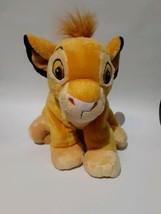 Authentic Disney Store Young Simba Lion King Stuffed beanie plush stuffe... - $19.34