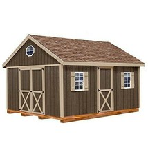 Woman Cave She Shed or Man Cave 12' x 20' w Hardware + Floor and 4 x 4 R... - $6,874.48