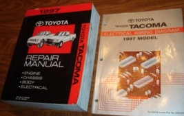 1997 TOYOTA TACOMA TRUCK Service Shop Workshop Repair Manual Set OEM W EWD - $128.65