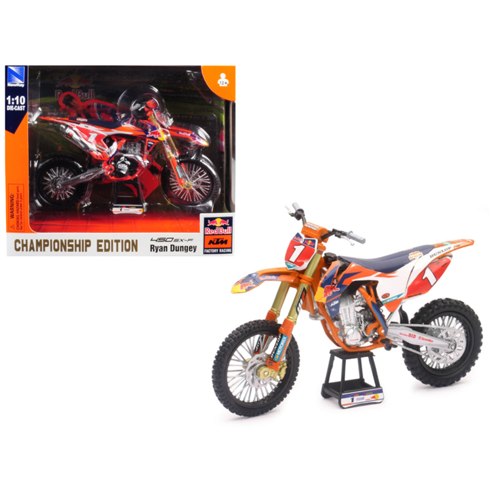 KTM 450 SX-F #1 Ryan Dungey Red Bull Factory Racing Championship Edition 1/10 Di