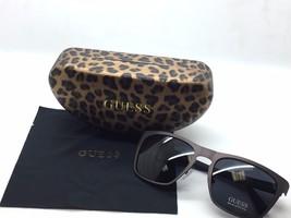 New GUESS Square gunmetal  Frame Authentic Designer Sunglasses gu6815 gun-3 - $78.26
