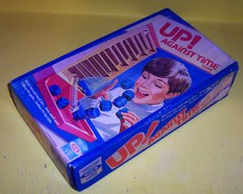 """RARE! ORIGINAL VINTAGE 1977 """"UP! AGAINST TIME"""" ANTIQUE GAME-COLLECTIBLE TOY image 4"""