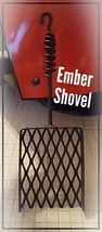 "Fireplace / Box Stove Ember Shovel, 18"" or Custom Length, Blacksmith made - $58.41+"