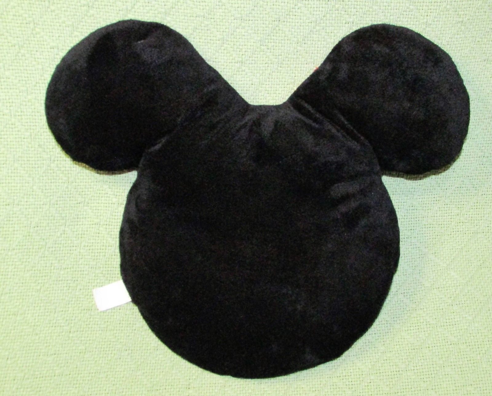 "Disney Minnie Mouse EMOJI PILLOW Plush Stuffed Character 11"" Red Bow Polka Dot  image 4"