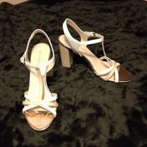 Franco Sarto Women's Shoes EBBA Blush Chunky Heels/Sandals Size SHOE 9 1/2 NEW - $25.18