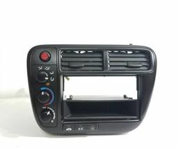 99-00 Honda Civic EX DX LX Radio Dash Bezel Climate Control OEM - $149.99