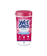 Wet Ones Antibacterial Hand Wipes, Fresh Scent, 40 Count Canister - $3.85