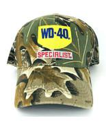 WD 40 Specialist Camoflauge Green Brown Baseball Cap Snapback Adjustable  - $29.69