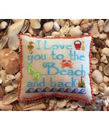 To The Beach & Back cross stitch chart by Needle Bling Designs - $8.10