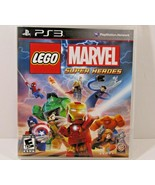 LEGO Marvel Super Heroes Sony PlayStation 3 PS3 Game Complete With Manua... - $13.99