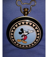 Disney Mickey Mouse Unlimited Tin Case For Pocket Watch See Description - $7.00