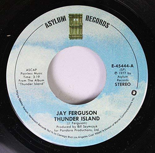 Primary image for Jay Ferguson 45 RPM Record Thunder Island/Magic Moment [Vinyl] JAY FERGUSON