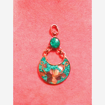 Gorgeous~Sterling~Turquoise Pendant - $25.74