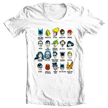 DC Comics Personalities T-shirt funny Free Shipping superhero DC comics DCO280 image 2