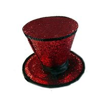 LAA2063 (Red) Mini Top Hat W Veil - $14.88