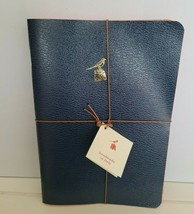 "NWT! Set 3 BIEFFE Italy Lined Handmade Notebooks BLUE/NAVY Journal 5.5"" ... - $15.79"