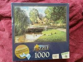 NIB SEALED Wrebbit 1000 Piece Puzzle Morning Walk - $14.85