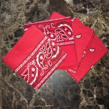 Red Bandana Headwraps FREE AND QUICK SHIPPING! - $4.90