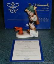 "70th Anniversary Limited Edition ""Sensitive Hunter"" Hummel Figurine 6/0 TMK8 MIB - $184.29"