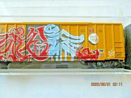 Micro-Trains # 02545561 Railbox Graffiti 50' Rib Side Boxcar Single Door N-Scale image 3