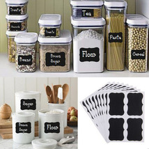 Fancy Blackboard Kitchen Jam Jar Labels sticker... - $0.72