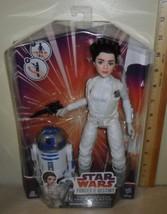Star Wars Forces of Destiny ~ Princess Leia Organa & R2-D2 - $16.78