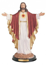 George S. Chen Imports Sacred Heart Of Jesus Holy Figurine Religious Dec... - $55.00