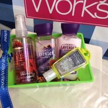 Bath Body Works Travel Set of Lavender Honey Shower Gel, Lotion, Fraganc... - $383,06 MXN