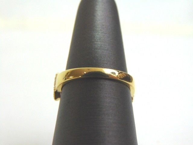 Women's 14K Yellow Gold Diamond Ring 3.9g E3518