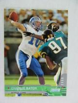 Charlie Batch Detroit Lions 2000 Topps Football Card 37 - $0.98